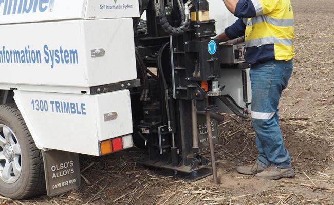 Solución Soil Information System de Trimble Ag'