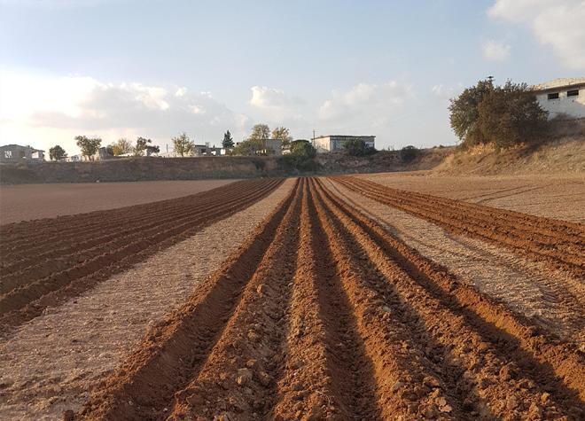 Preparación del terreno de Trimble